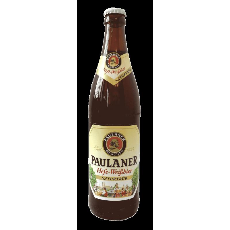 Bière Paulaner Hefe Weissbier Naturtrüb