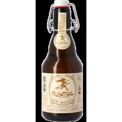 Bière Quintine blanche bio