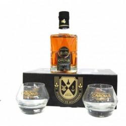 Whisky Gouden Carolus + 2 verres