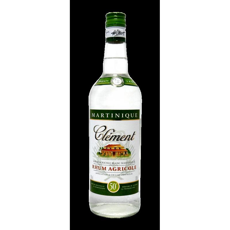 Rhum Clément blanc 50°