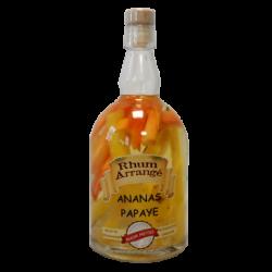 Rhum Metiss ananas - papaye