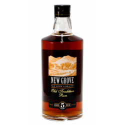 Rhum New grove 5 ans Old tradition