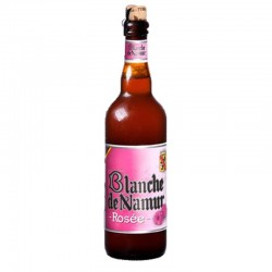 Bière Blanche de Namür Rosée - 75 cl