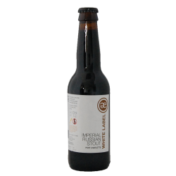 Bière Emelisse White label Imperial Russian Stout - Port Charlotte