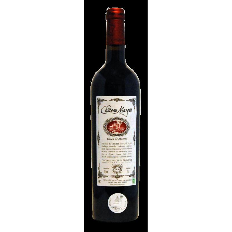 Château Margui rouge AC Côteaux varois bio