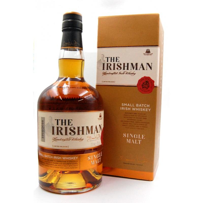 Whiskey The Irishman Single Malt