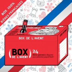 Box de l'avent 24 Bières 100% françaises