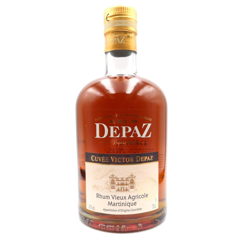 Rhum Depaz cuvée Victor Depaz