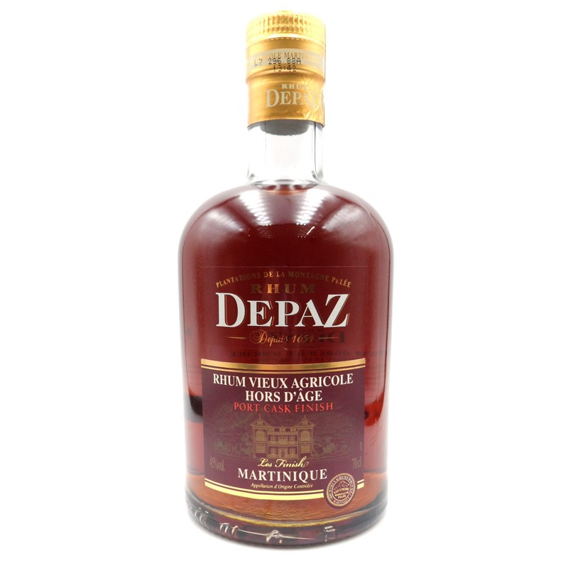 Rhum Depaz VSOP port finish