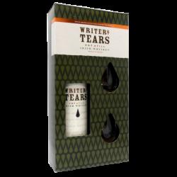 Coffret Whiskey Writers tears + 2 verres