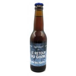 Bière retour du Givre Blanche