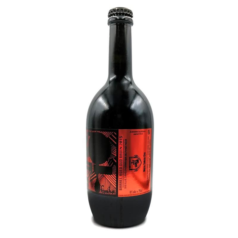 Bière OUD BRUIN pinot noir barrel aged 2016 - 75cl