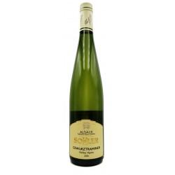 Vin blanc Gewurztraminer...