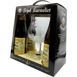 Coffret bière tripel Karmeliet