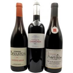 Coffret découverte vins rouges