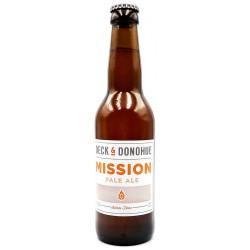 Bière mission pale ale - brasserie Deck & Donohue