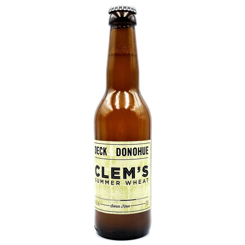 Bière artisanale française - clem's summer wheat