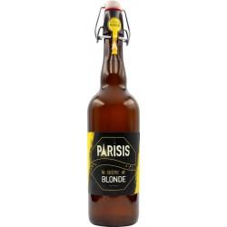 Bière PArisis blonde - brasserie parisis - 75 cl