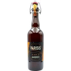 Biere Parisis Ambrée - Brasserie Parisis - 75cl