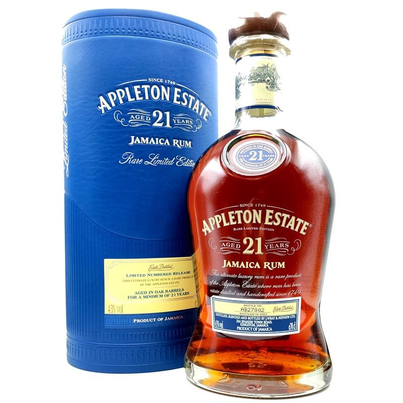 Rhum Appleton estate 21 ans