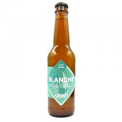 Bière Azimut Blanche Lime...