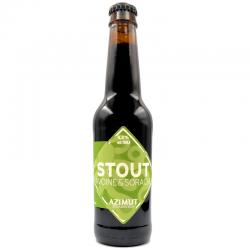 Bière artisanale française - Stout Avoine et Sorachi - Brasserie Azimut