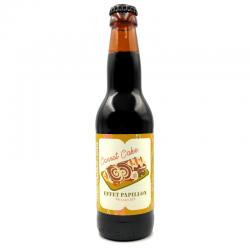 Bière artisanale française - Carrot Cake - Brasserie Effet Papillon