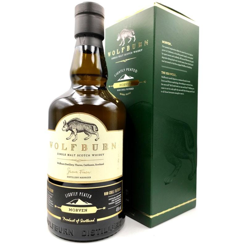 whisky artisanal écossais - Wolfburn Morven - Distillerie Wolfburn