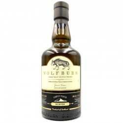 whisky artisanal écossais - Wolfburn Morven - Distillerie Wolfburn - bouteille