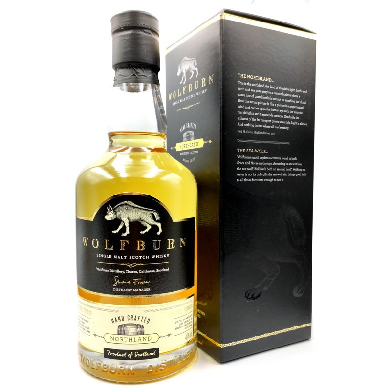 Whisky artisanal écossais - Wolfburn Northland - Distillerie Wolfburn