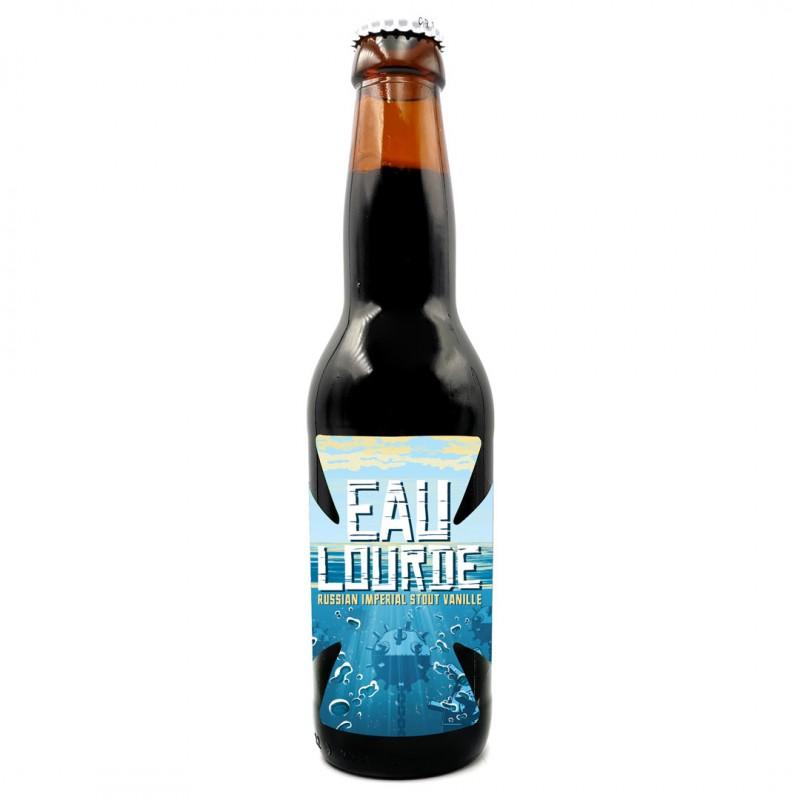 Bière artisanale française - Eau Lourde - Brasserie Sainte Cru