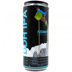 Bière artisanale française - New Zealand DDH IPA - Brasserie Azimut