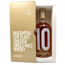 Whisky artisanal suédois - Mackmyra Ten Years - Single Malt