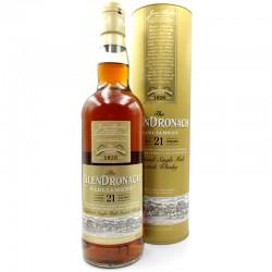 Whisky artisanal écossais - Glendronach 21 ans Old Parliament - Single malt