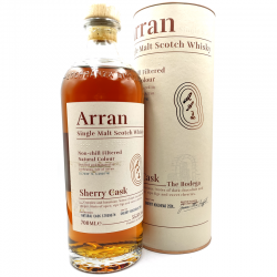 Whisky artisanal écossais - Arran Sherry Cask Bodega - Single Malt