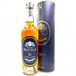 Whisky artisanal écossais - Royal brackla 16 ans - Single Malt