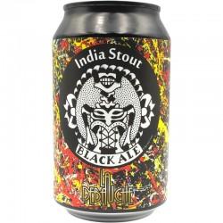 Bière La Débauche Black Ale India Stout CAN