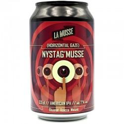 Bière artisanale française - Nystag'Musse - Brasserie La Muette