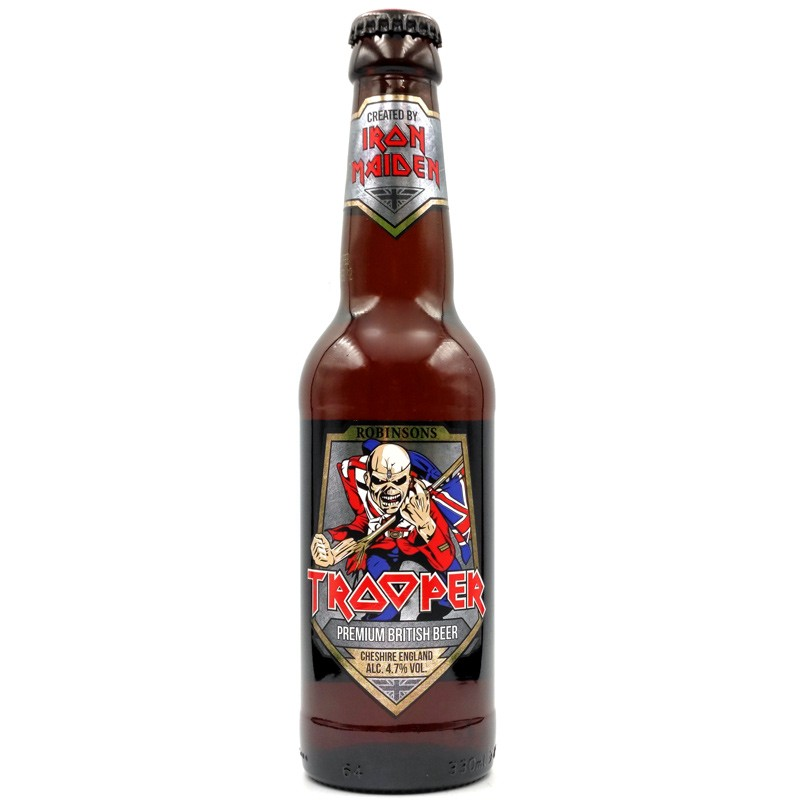 Bière spéciale anglaise - Trooper Iron Maiden - Robinsons Brewery