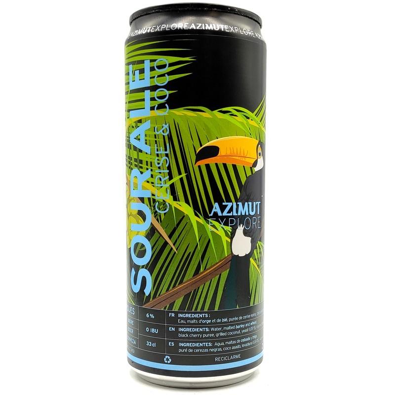 Bière artisanale française - Sour Ale Cerise Coco - Brasserie Azimut