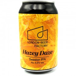 Bière artisanale anglaise - Hazey Daze - London Beer Factory
