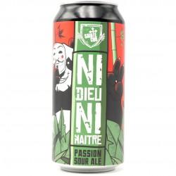 Bière artisanale française - Ni Dieu Ni Maître  - Brasserie Sainte Cru