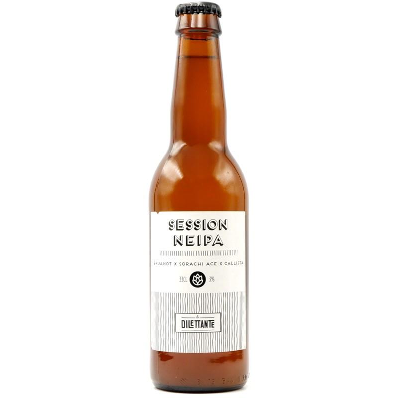 Bière artisanale française - Session NEIPA - Brasserie La Dilettante