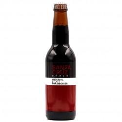 Bière artisanale française - Santa Cruz Imperial Stout Framboise - Sainte Cru