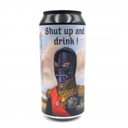 Bière artisanale française - Shut Up And Drink - Brasserie La Débauche