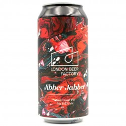 Bière artisanale anglaise - Jibber Jabber - London Beer Factory
