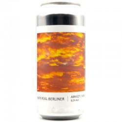 Bière artisanale - Imperial Berliner Abricot Vanille - Brasserie Popihn