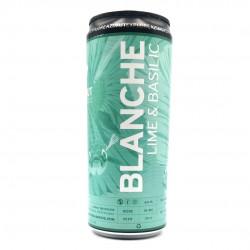 Bière Azimut Blanche Lime Basilic