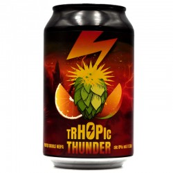 Bière artisanale française - Trhopic Thunder - Brasserie La Muette