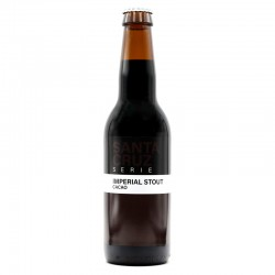 Bière artisanale - Santa Cruz Imperial Stout Cacao - Sainte Cru